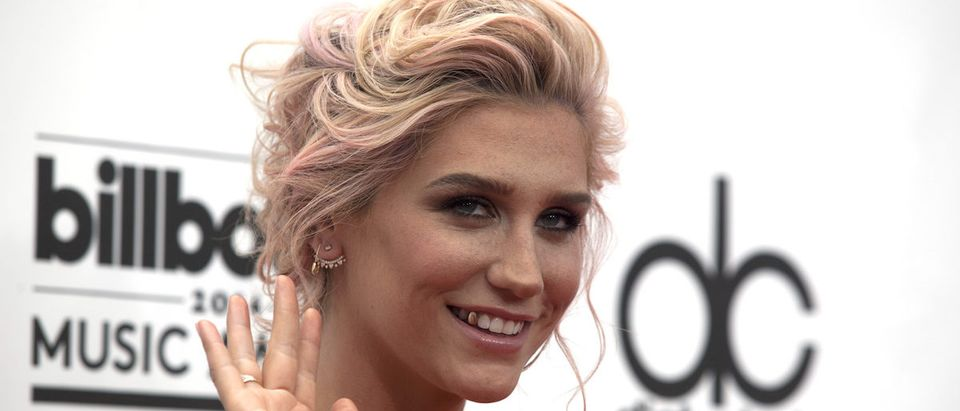 Singer Kesha arrives at the 2014 Billboard Music Awards in Las Vegas, Nevada May 18, 2014. REUTERS/ L.E. Baskow
