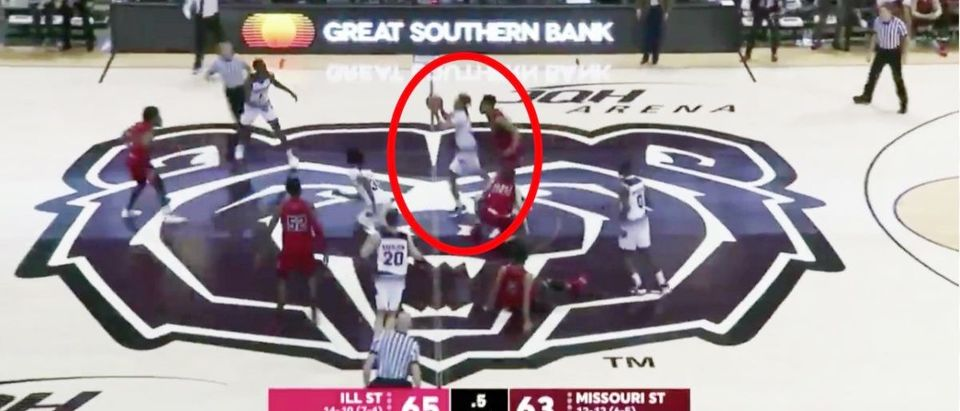 Missouri State (Credit: Screenshot/Twitter Video https://twitter.com/Josh_Frydman/status/1094733711105511424)