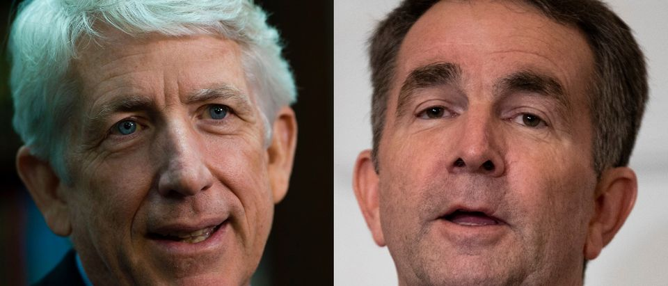 Virginia AG Mark Herring and Gov. Ralph Northam, both Democrats, admitted to having worn blackface. PAUL J. RICHARDS/AFP/Getty Images and Alex Edelman/Getty Images