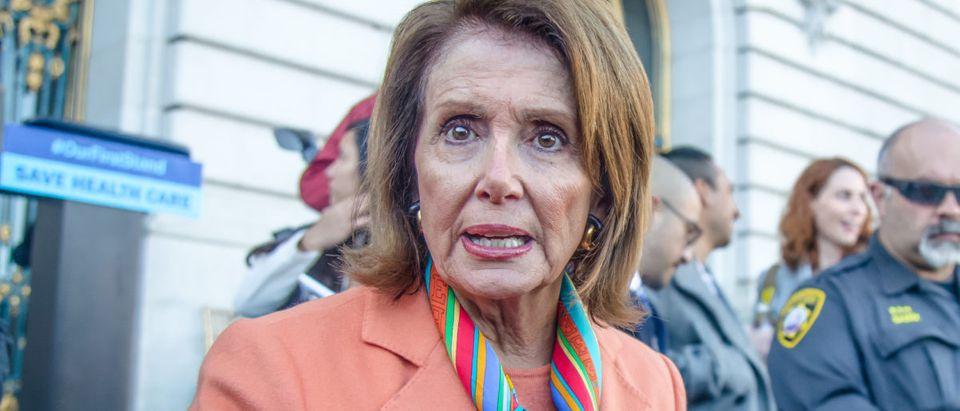 Nancy Pelosi. Shutterstock