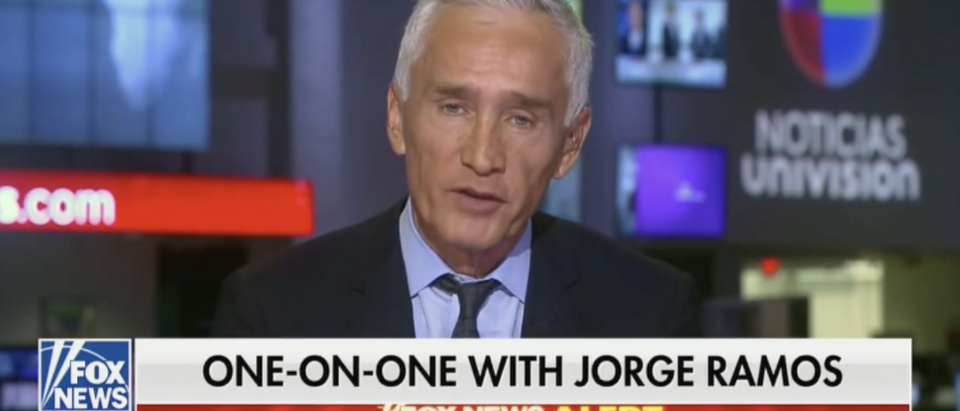 Jorge Ramos on Sean Hannity (2/25)
