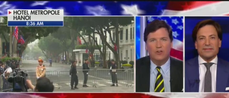 Tucker Carlson On Venezuela (Fox News screenshot)