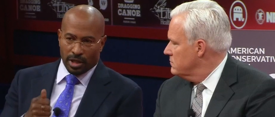 Van Jones discusses criminal justice reform at CPAC (screengrab)