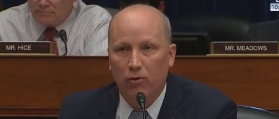 "Texas Rep. Chip Roy shared his reservations about the ""For The People Act"" during a hearing Feb. 6, 2019. Grabien screenshot"