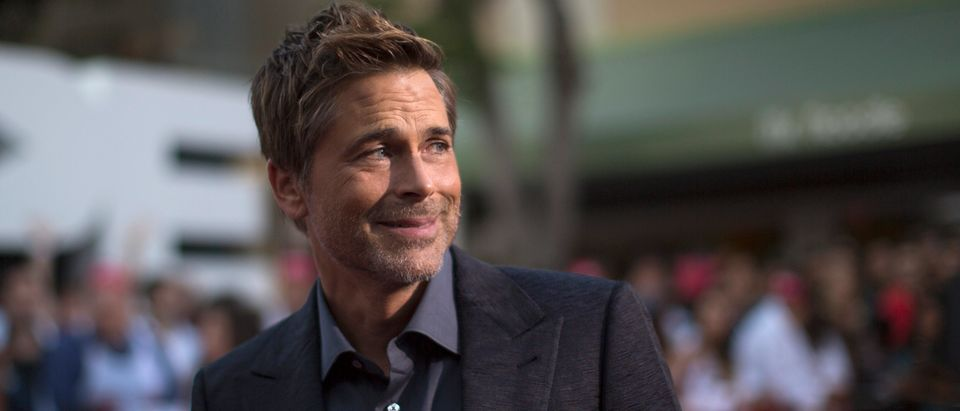 "Cast member Rob Lowe attends the premiere of ""Sex Tape"" in Los Angeles, California July 10, 2014. REUTERS/Mario Anzuoni"