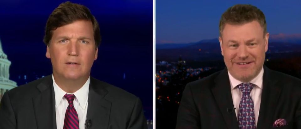 Tucker Carlson and Mark Steyn