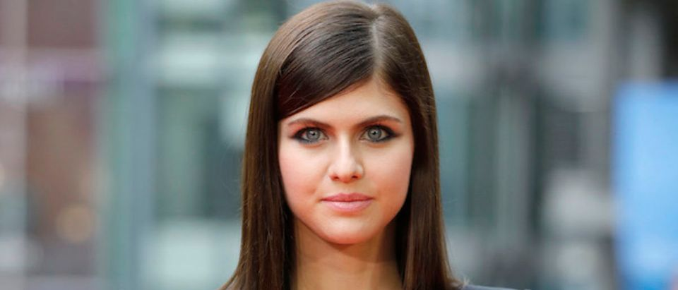 Alexandra Daddario poses at the 'Baywatch' Photo Call at Sony Centre on May 30, 2017 in Berlin, Germany. (Photo by Andreas Rentz/Getty Images for Paramount Pictures)