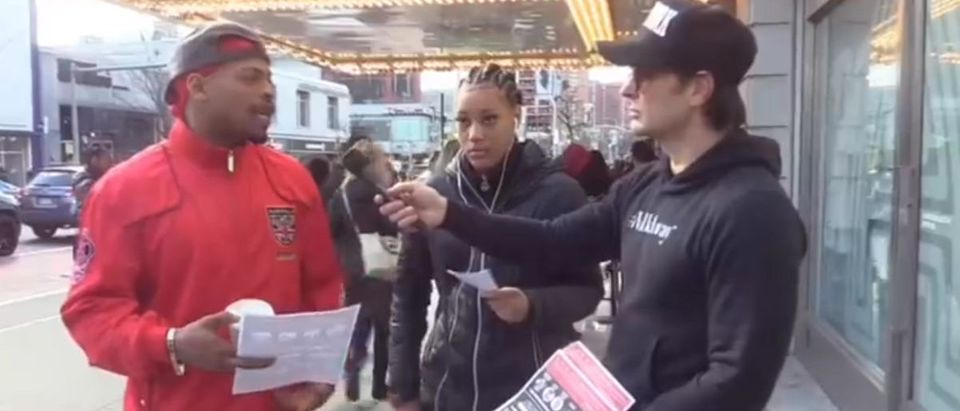 #WalkAway Founder, Brandon Straka speaking to residents in Harlem, NY