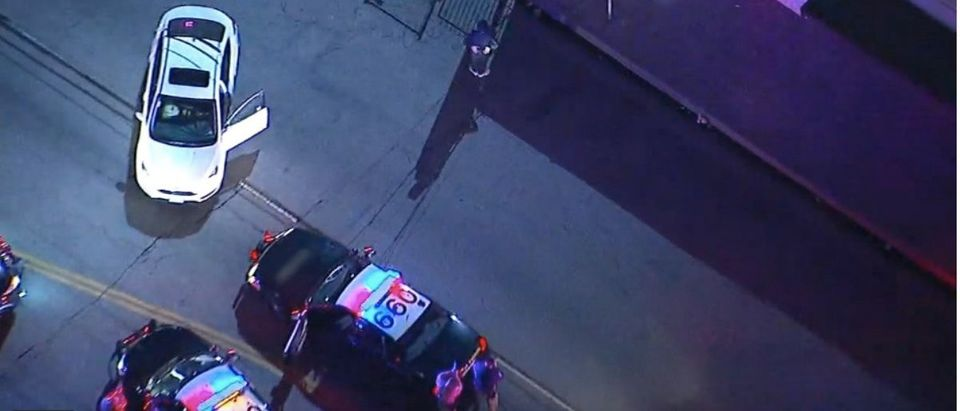 Breakdancing car chase suspect (Photo: YouTube Screenshot)