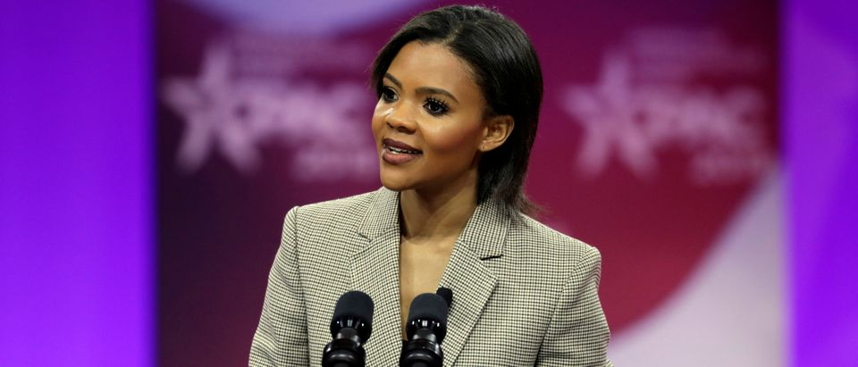Candace Owens speaks at CPAC in Washington