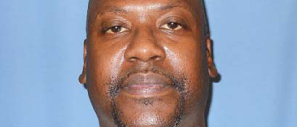 Death row inmate Curtis Flowers is seen in this Mississippi Department of Corrections photo on July 1, 2010. (Handout via REUTERS)