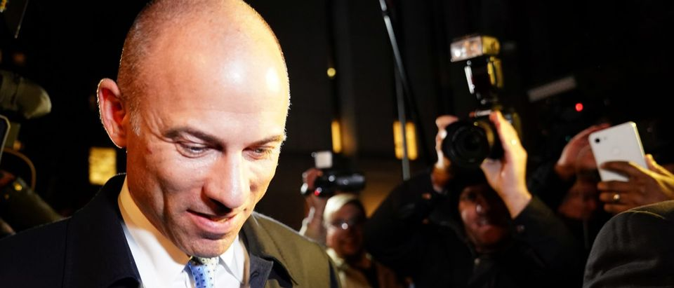 Lawyer Michael Avenatti walks out of federal court in New York