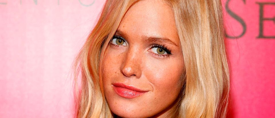Model Erin Heatherton attends the 2011 Victoria's Secret Fashion Show After Party at Dream Downtown on November 9, 2011 in New York City. (Photo by Andy Kropa/Getty Images)