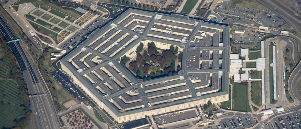 The Pentagon is seen from an airplane over Washington, DC on October 30, 2018. (Photo by SAUL LOEB / AFP) (Photo credit should read SAUL LOEB/AFP/Getty Images)The Pentagon is seen from an airplane over Washington, DC on October 30, 2018. (Photo by SAUL LOEB/AFP/Getty Images)