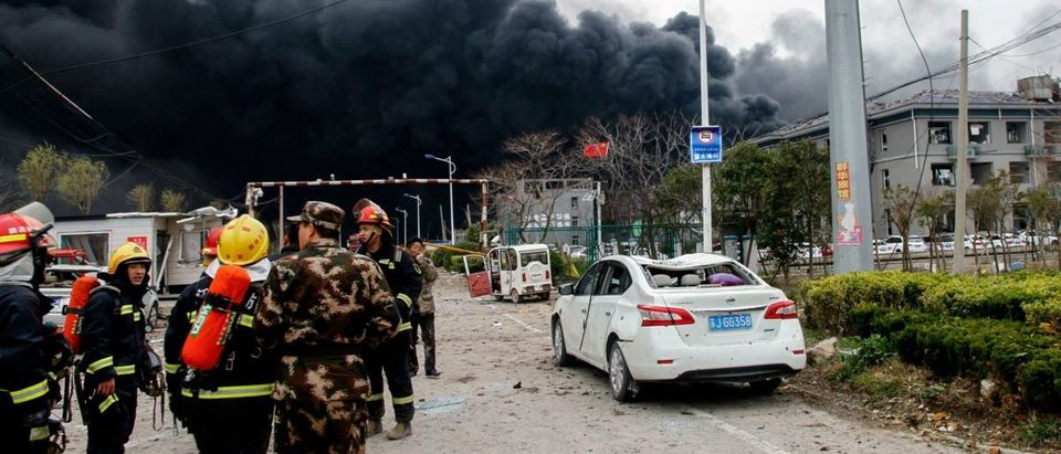 TOPSHOT-CHINA-CHEMICALS-EXPLOSION-ACCIDENT