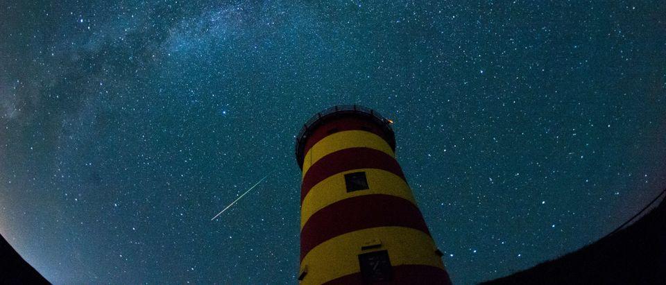 GERMANY-ASTRONOMY-SPACE-PERSEIDS-METEOR SHOWER-SHOOTING STAR