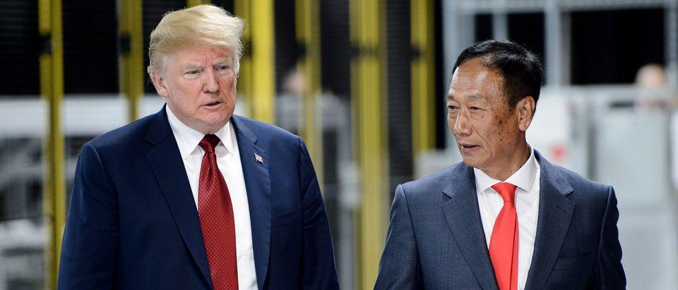 US-POLITICS-ECONOMY-FOXCONN-ENTERPRISES