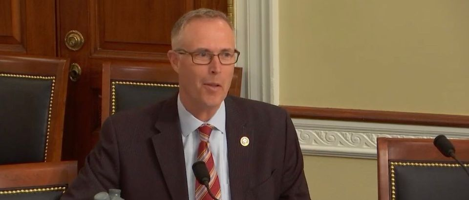 Democratic Rep. Jared Huffman of California questions panelists during a Subcommittee on Energy and Mineral Resources hearing titled, 'The Need to Protect the Arctic National Wildlife Refuge Coastal Plain.' Youtube/Screenshot/Energy and Mineral Resources Subcommittee Hearing