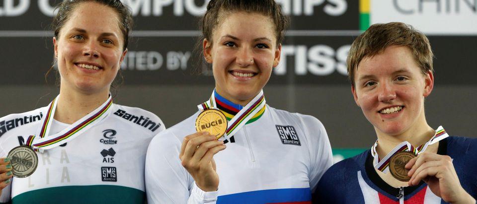 Cycling - UCI Track World Championships - Women's Individual Pursuit, Final
