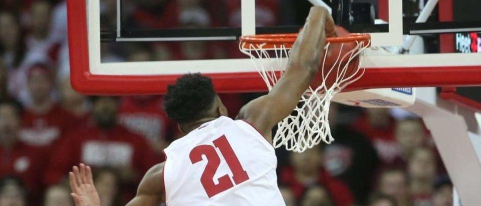 NCAA Basketball: Iowa at Wisconsin
