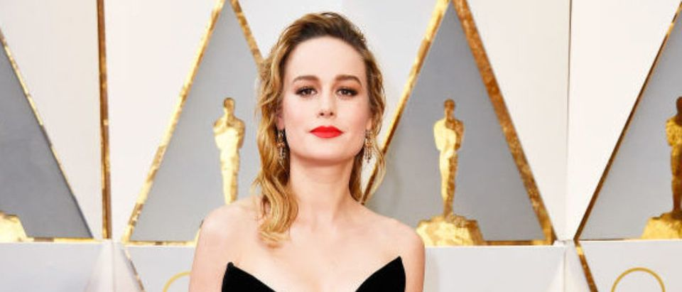 Actor Brie Larson attends the 89th Annual Academy Awards at Hollywood & Highland Center on February 26, 2017 in Hollywood, California. (Photo by Frazer Harrison/Getty Images)