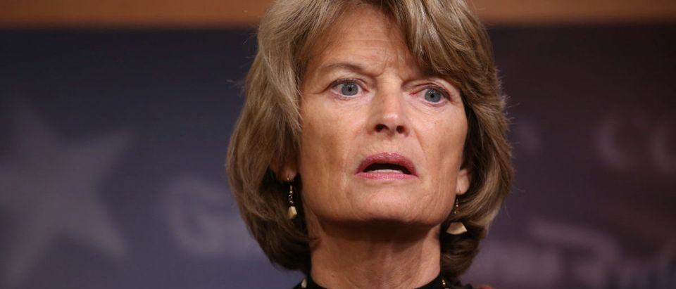 GOP Sen. Lisa Murkowski of Alaska speaks at a news conference after competing measures to end the partial U.S. government shutdown fell short in the Senate on Capitol Hill in Washington, U.S., January 24, 2019. REUTERS/Leah Millis