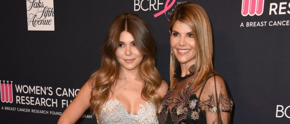"Olivia Jade and Lori Loughlin attend WCRF's ""An Unforgettable Evening"" at the Beverly Wilshire Four Seasons Hotel on February 27, 2018 in Beverly Hills, California. (Photo by Frazer Harrison/Getty Images)"