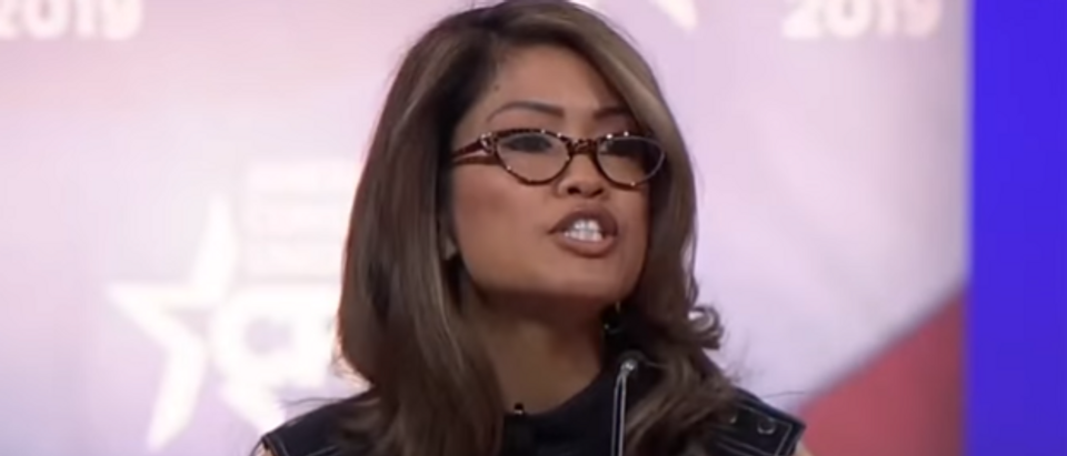 Michelle Malkin CPAC speech (screengrab)