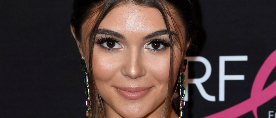 Olivia Jade Giannulli attends The Women's Cancer Research Fund's An Unforgettable Evening Benefit Gala at the Beverly Wilshire Four Seasons Hotel on February 28, 2019 in Beverly Hills, California. (Photo by Frazer Harrison/Getty Images)