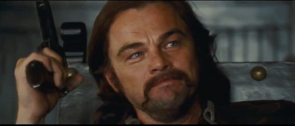 Once Upon a Time in Hollywood (Credit: Screenshot/Twitter Video https://twitter.com/LeoDiCaprio/status/1108348568442531843)