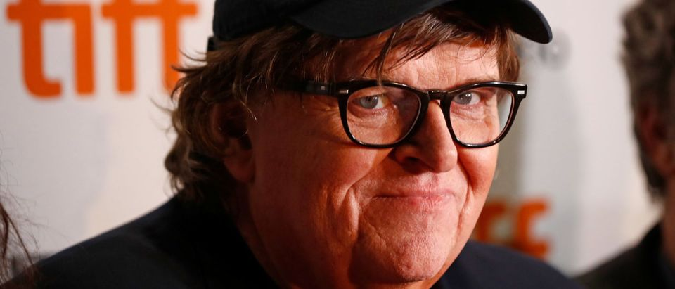 Director Michael Moore arrives for the world premiere of Fahrenheit 11/9 at the Toronto International Film Festival (TIFF) in Toronto, Canada, September 6, 2018. REUTERS/Mark Blinch