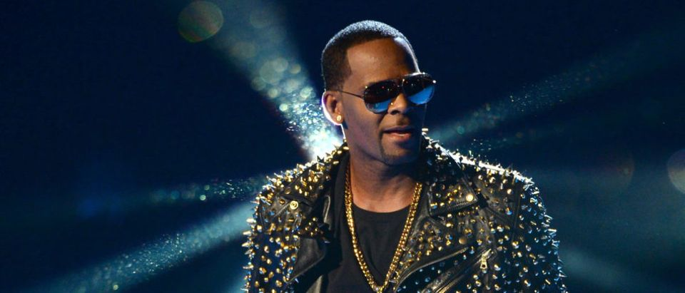 Recording artist R. Kelly performs onstage during the 2013 BET Awards at Nokia Theatre L.A. Live on June 30, 2013 in Los Angeles, California. (Photo by Mark Davis/Getty Images for BET)