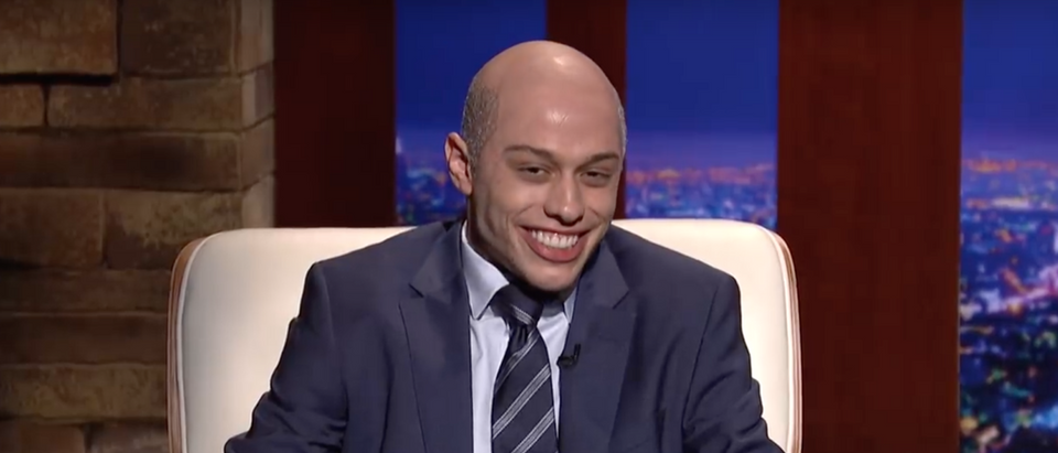 "Pete Davidson appears as Michael Avenatti on ""SNL."" Screen Shot/NBC"