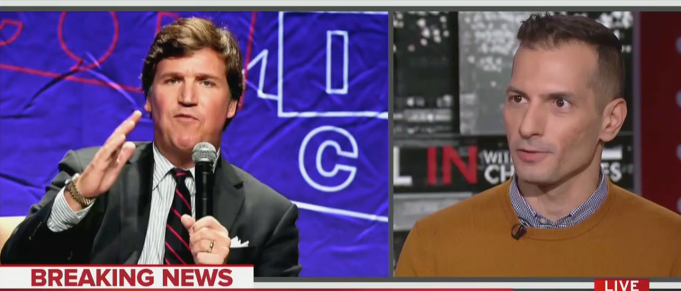 "Angelo Carusone on ""All In With Chris Hayes"" (MSNBC Screenshot)"