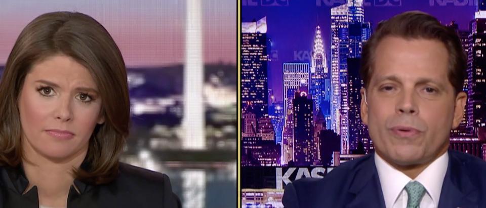 Kasie Hunt/Anthony Scaramucci/MSNBC