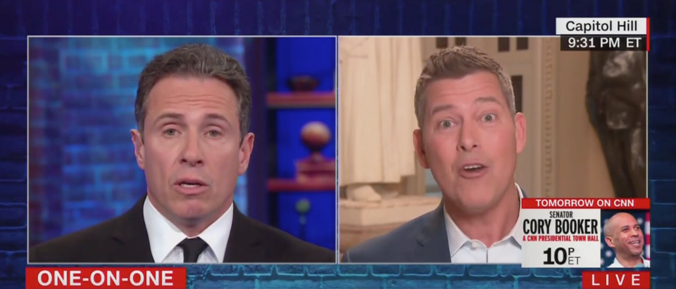 Chris Cuomo Interviews Sean Duffy (CNN Screenshot)
