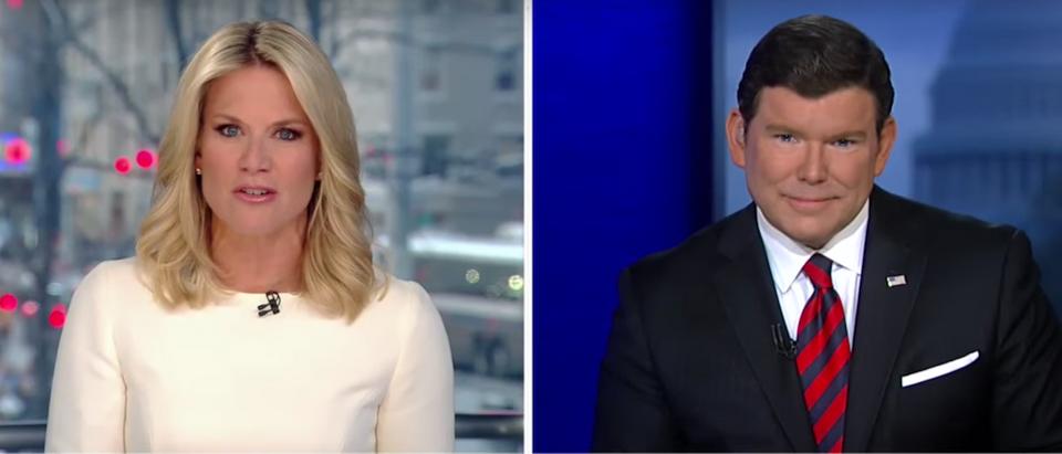 Screen Shot:Youtube:Fox News:Bret Baier:Martha MacCallum