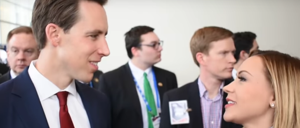 Josh Hawley On Big Tech