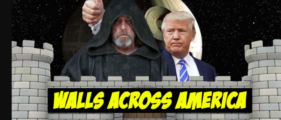 Luke Skywalker Wall