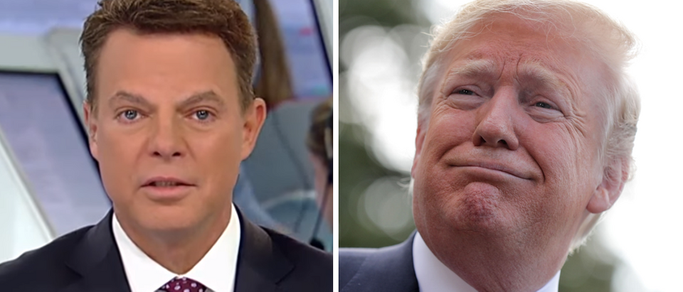 Shepard Smith (Fox News screengrab) Donald Trump (Chip Somodevilla, Getty Images)