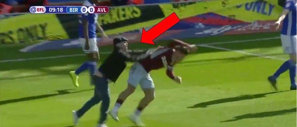 Soccer Attack (Credit: Screenshot/Twitter Video https://twitter.com/SportsCenter/status/1104749139483607040)