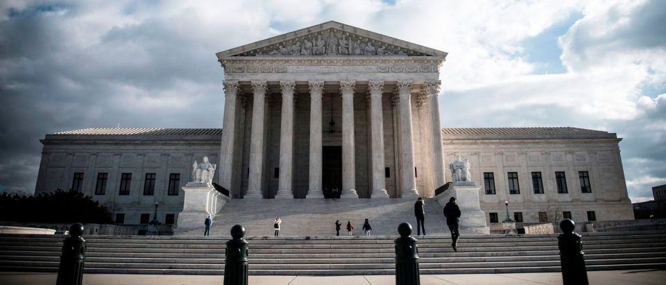 The Supreme Court as seen on Decmeber 24, 2018. (Eric Baradat/AFP/Getty Images)