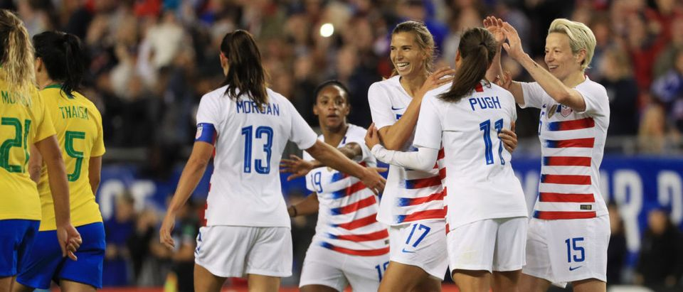 2019 SheBelieves Cup - United States v Brazil (Photo by Mike Ehrmann/Getty Images)