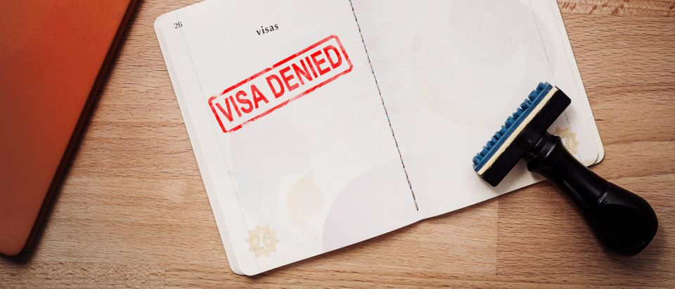 Visa Denied. Shutterstock