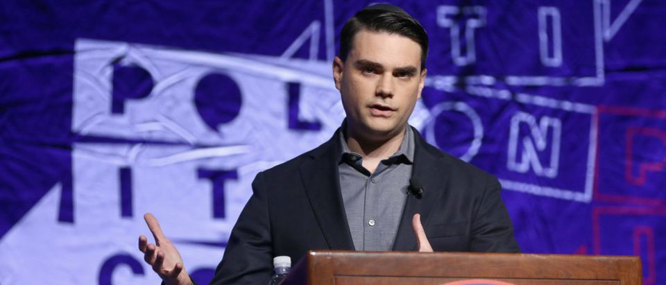 Ben Shapiro speaks onstage during Politicon 2018 at Los Angeles Convention Center on Oct. 21, 2018 in Los Angeles, California. (Photo by Rich Polk/Getty Images for Politicon)