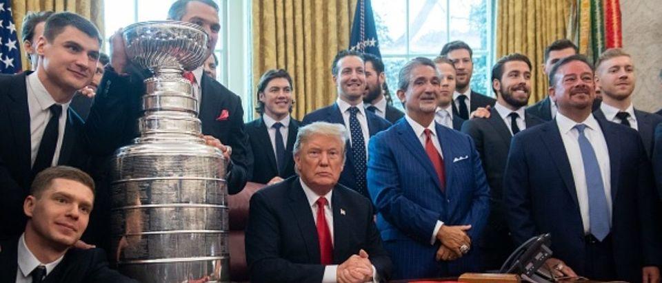 Donald Trump-Washington Capitals