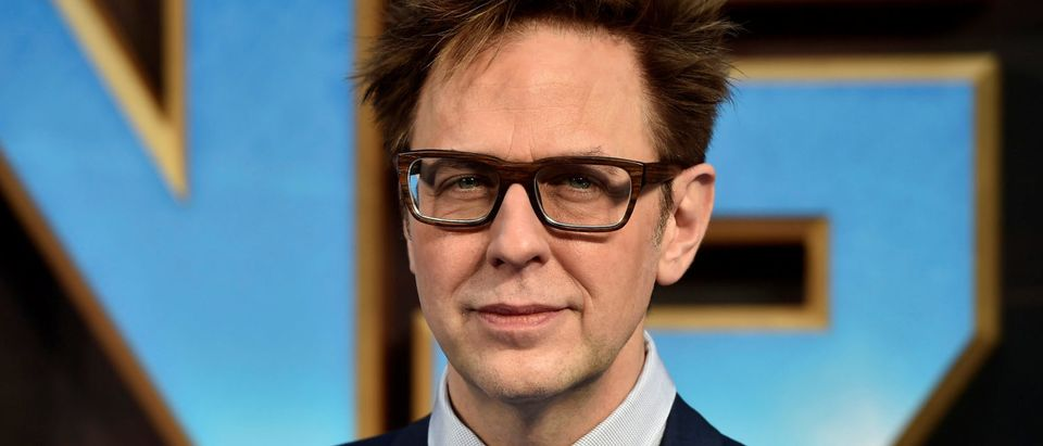 "Director James Gunn attends a premiere of the film ""Guardians of the galaxy, Vol. 2"" in London April 24, 2017. REUTERS/Hannah McKay"