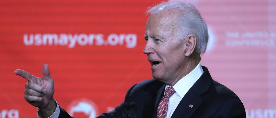 Former Vice President Joe Biden Addresses U.S. Conference Of Mayors Meeting