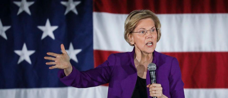 Elizabeth Warren Holds Organizing Event In NYC