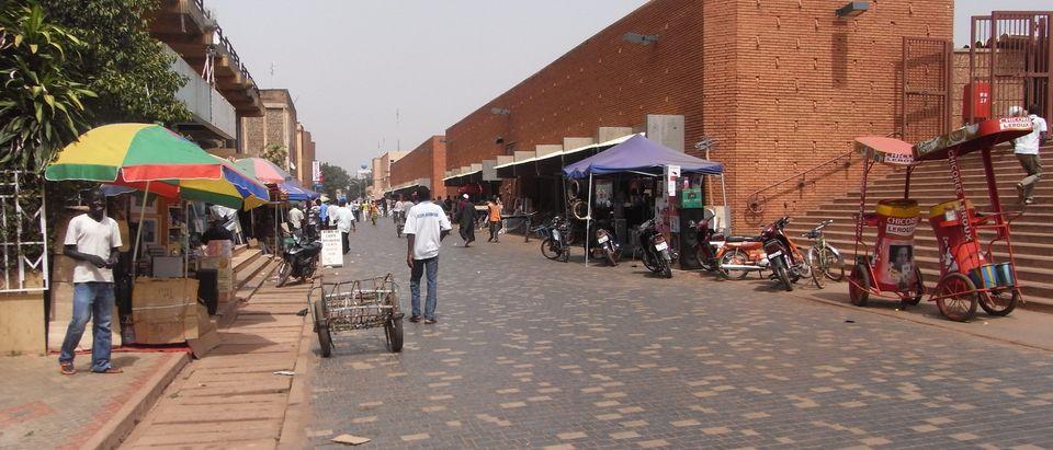 Burkina Faso town (Shutterstock/StreetVJ)